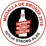Madalla de bronze 2016 - Estil Strong ales